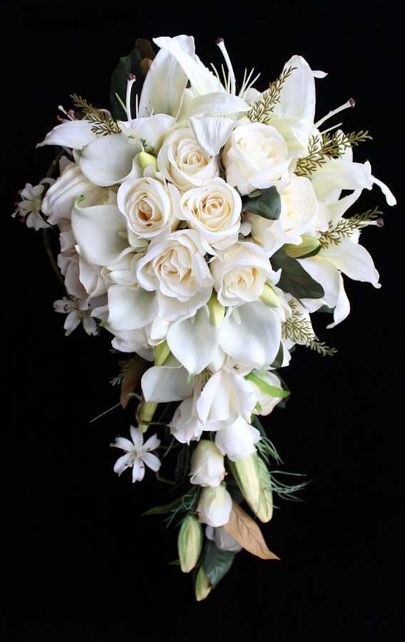 Traditional Wedding Flowers Pictures : Bridal bouquet traditional style from jan maree flowers